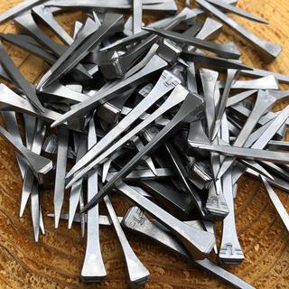 新品 蹄鉄 釘 蹄釘 100本 / ネイル 馬蹄 ビス 雑貨 北欧 フック 和釘