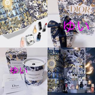 Dior - ディオール2021アドヴェントカレンダーモンテーニュ30キャンドルノベルティ新品