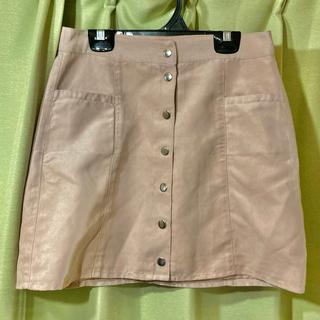H&M - スエード ミニスカート