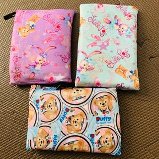 ダッフィー - 大人気❤️ディズニー ダッフィー エコバッグ 折りたたみ 大容量 ビニール袋