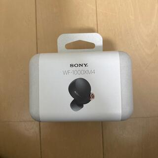 SONY - SONYフルワイヤレスイヤホンWF-1000XM4 BM
