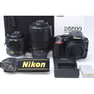 Nikon - ★美品★ Nikon D5500 ダブルレンズセット