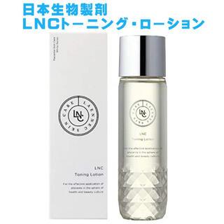 100円オフクーポン使用 LNC トーニングローション 化粧水 さっぱりタイプ