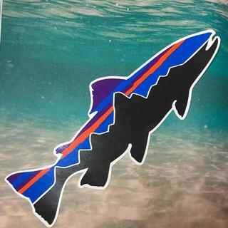 パタゴニア(patagonia)の希少 廃盤 パタゴニア patagonia 大魚 ステッカー シール 正規品(その他)