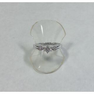 タサキ(TASAKI)の☆仕上済☆ 田崎真珠 Pt900 ダイヤモンドレディースリング 0.30ct(リング(指輪))