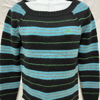 BURBERRYブルーレーベルボーダーニットセーター