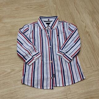 トミーヒルフィガー(TOMMY HILFIGER)の長袖シャツ トミーヒルフィガー80センチ(シャツ/カットソー)