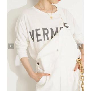 イエナ(IENA)のVERMEILプリントTシャツ ヴェルメイユパーイエナ(Tシャツ/カットソー(七分/長袖))