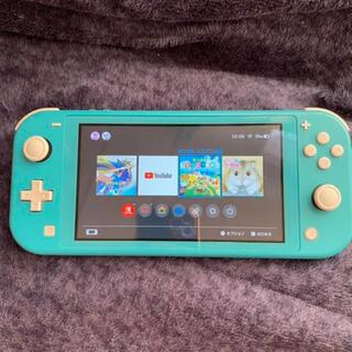Nintendo Switch - 【本日限定価格】あつ森付き スイッチライト ターコイズ