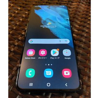 Galaxy - 【訳あり】Galaxy S21+ 香港版 SM-G9960 黒 8+256GB