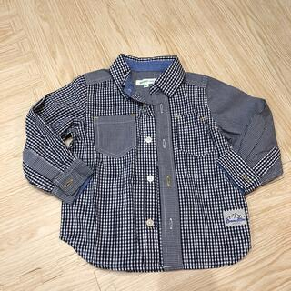 ビームス(BEAMS)のビームス ミニ 長袖シャツ90(ブラウス)
