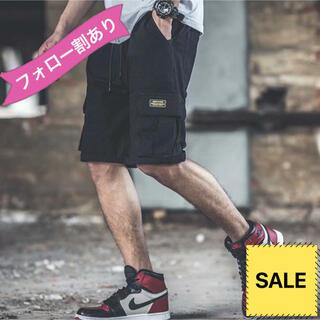 メンズ ショートパンツ パンツ ズボン スポーツ 新品 ハーフパンツ M L 黒