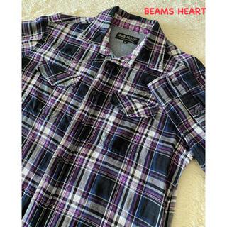 BEAMS - 未使用に近い美品★BEAMS HEART★チェックシャツ