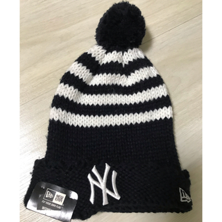 ニューエラー(NEW ERA)のニューヨーク ヤンキース NEW ERA ニット帽 レディース(ニット帽/ビーニー)