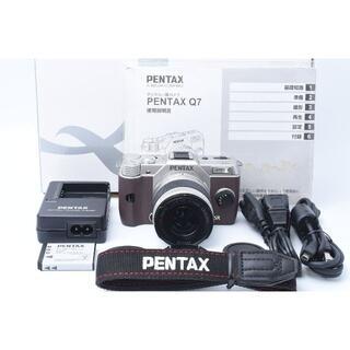PENTAX - ★ジャンク★ PENTAX Q7 標準レンズセット