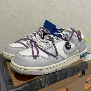 ナイキ(NIKE)のNIKE off-white dunk 48(スニーカー)