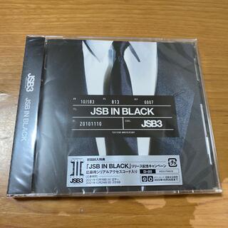 【新品未開封】JSB IN BLACK  CD&DVD 三代目