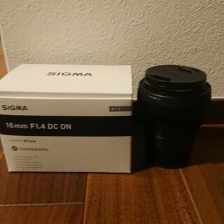 SIGMA - 美品  SIGMA (シグマ)C 16mm F1.4 DC DN(ソニーE用)