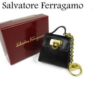 Salvatore Ferragamo - サルヴァトーレ フェラガモ ガンチーニ コインケース 小銭入れ キーホルダー