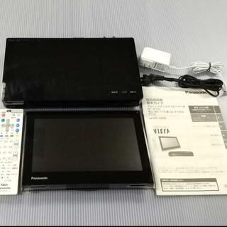 Panasonic - プライベート・ビエラ UN-10D6-K ブルーレイ付 ポータブル防水テレビ