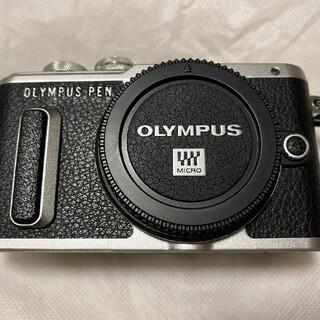 OLYMPUS - OLYMPUS PEN E-PL8 ミラーレス一眼 ブラック