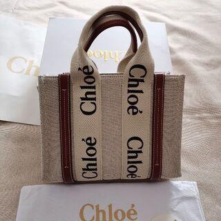 Chloe - 美品 クロエchloe スモールトートバッグ