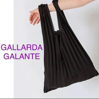 GALLARDA GALANTE - 新品 コラージュ ガリャルダガランテ プリーツ トートバッグ エコバッグ 黒