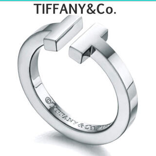 Tiffany & Co. - ティファニー Tスクエアーリング