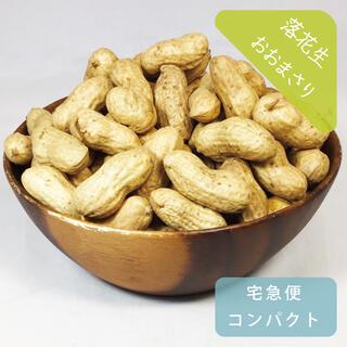 ゆで落花生用 おおまさり 約1kg 宅急便コンパクト 農薬不使用 生ピーナッツ