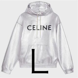 celine - CELINE ルーズ スウェットシャツ コットンフリース