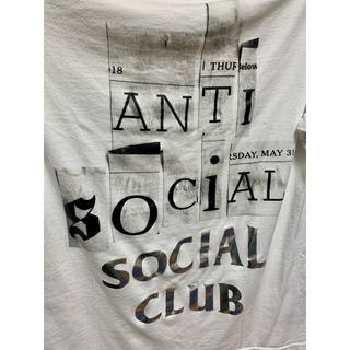FRAGMENT - fragment anti social コラボ TEE  S