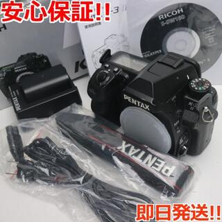 リコー(RICOH)の美品 PENTAX K-3 II ブラック (デジタル一眼)
