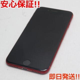 アイフォーン(iPhone)の美品 SIMフリー iPhone8 256GB レッド (スマートフォン本体)
