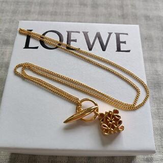 LOEWE - 国内即発☆loewe ネックレス ゴールド色