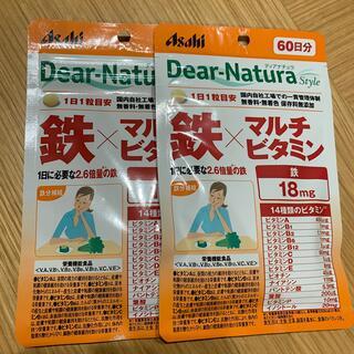 アサヒ - Dear Natura ディアナチュラ 鉄 マルチビタミン サプリ