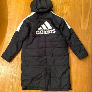 adidas - adidas アディダス ☆ベンチコート 160 ブラック