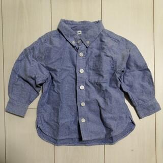 ムジルシリョウヒン(MUJI (無印良品))の綿シャツ(シャツ/カットソー)
