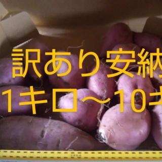 訳あり10kg【無農薬・無肥料40年】安納芋 サツマイモ  さつまいも