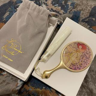 ジェラートピケ(gelato pique)の【新品】ジェラートピケ ミュシャと椿姫 手鏡 ミラー(その他)