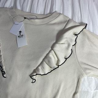 ウィゴー(WEGO)のフリルシャツ(シャツ/ブラウス(半袖/袖なし))