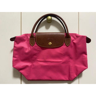 LONGCHAMP - Longchamp ロンシャン プリアージュ トートバッグ S ピンク