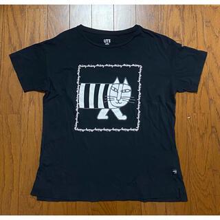 リサラーソン(Lisa Larson)のユニクロ Tシャツ 150リサラーソン マイキー 黒 ブラック 完売品 綿100(Tシャツ/カットソー)
