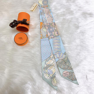 Hermes - 人気色✨HERMES ツイリー 2021AW 杖傘と決闘 新品未使用