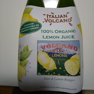 コストコ(コストコ)のコストコ 有機レモンジュース2本セット(ソフトドリンク)