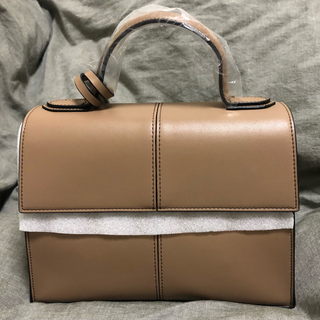 ENFOLD - 【完売品】L'or One-handle Square Bag Taupe