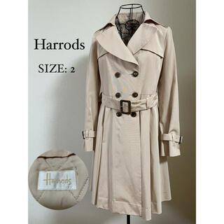 ハロッズ(Harrods)のHarrods ハロッズ トレンチコート ライナー付き ベージュ フレア(トレンチコート)