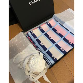シャネル(CHANEL)の今月購入❣️新品2021コレクション正規CHANELシルクスカーフ90(バンダナ/スカーフ)