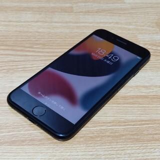 アイフォーン(iPhone)のiPhone7 32GB docomo ブラック ドコモ(スマートフォン本体)