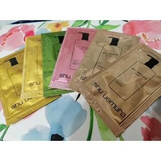 shu uemura - シュウウエムラ サンプル クレンジングオイル 4種 6包