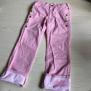 Shirley Temple - シャーリーテンプル いちご刺繍 パンツ